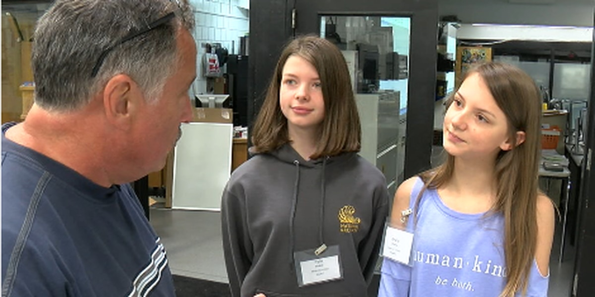 Romona's Kids: Kids try high-tech jobs at manufacturing camp