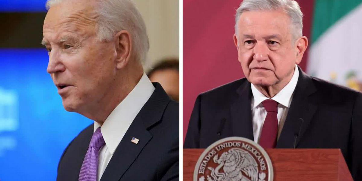 Biden speaks to Mexico's president about immigration policies