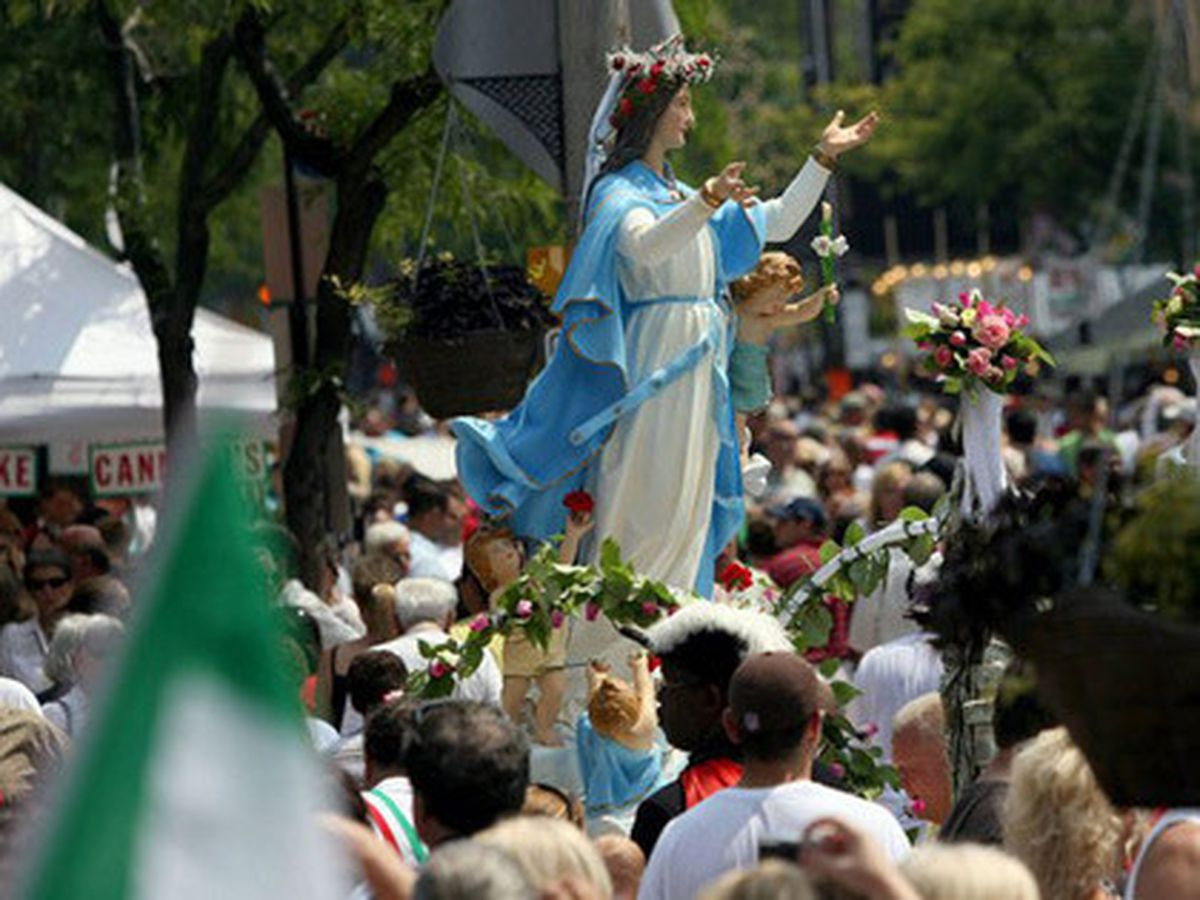 121st Annual Feast of the Assumption underway in Little Italy