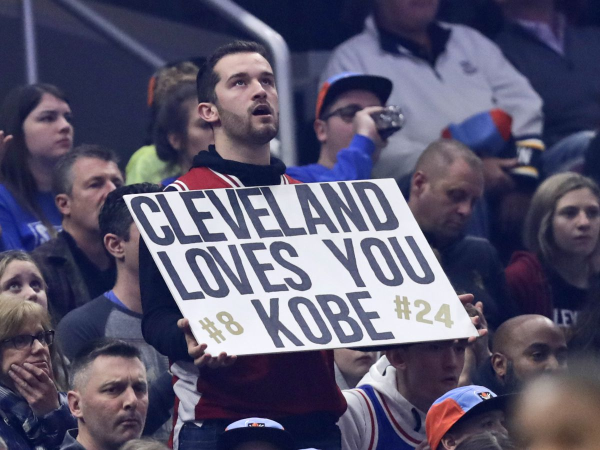 Here's how the Cavaliers honored Kobe Bryant during Cleveland's 1st home game since his death (photo gallery)