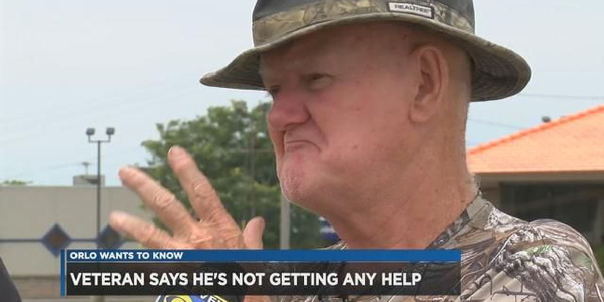 "Virtually homeless Vietnam vet starting to get answers after coming to ""Orlo Wants to Know"""