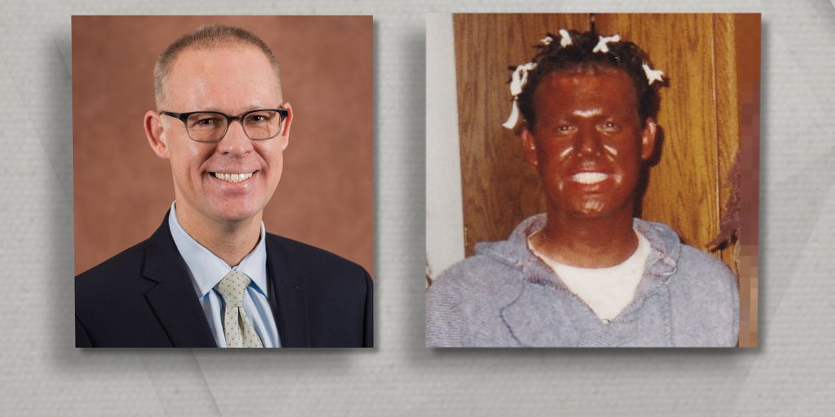 Photo surfaces of Cuyahoga County Health Commissioner in blackface