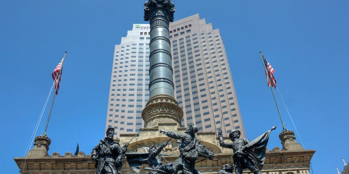 Cuyahoga County Soldiers' and Sailors' Monument remembering 9/11 victims