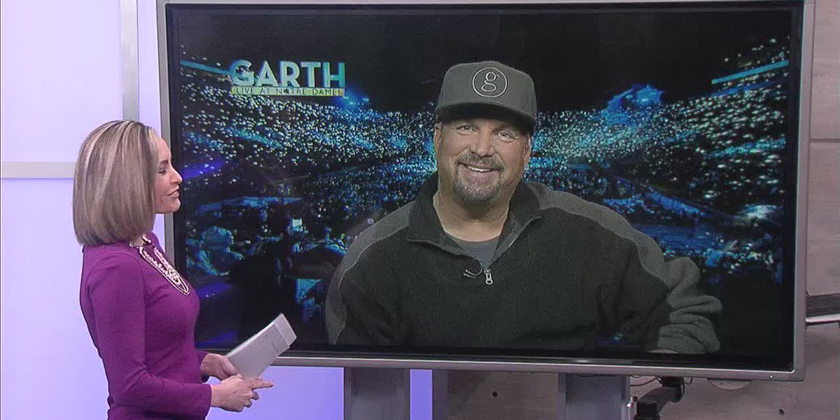 Country music legend Garth Brooks reflects on first-ever concert ahead of special