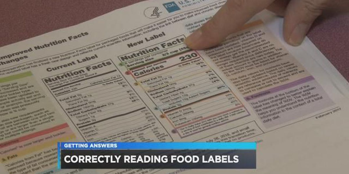 Food labels will change to make your choices easier