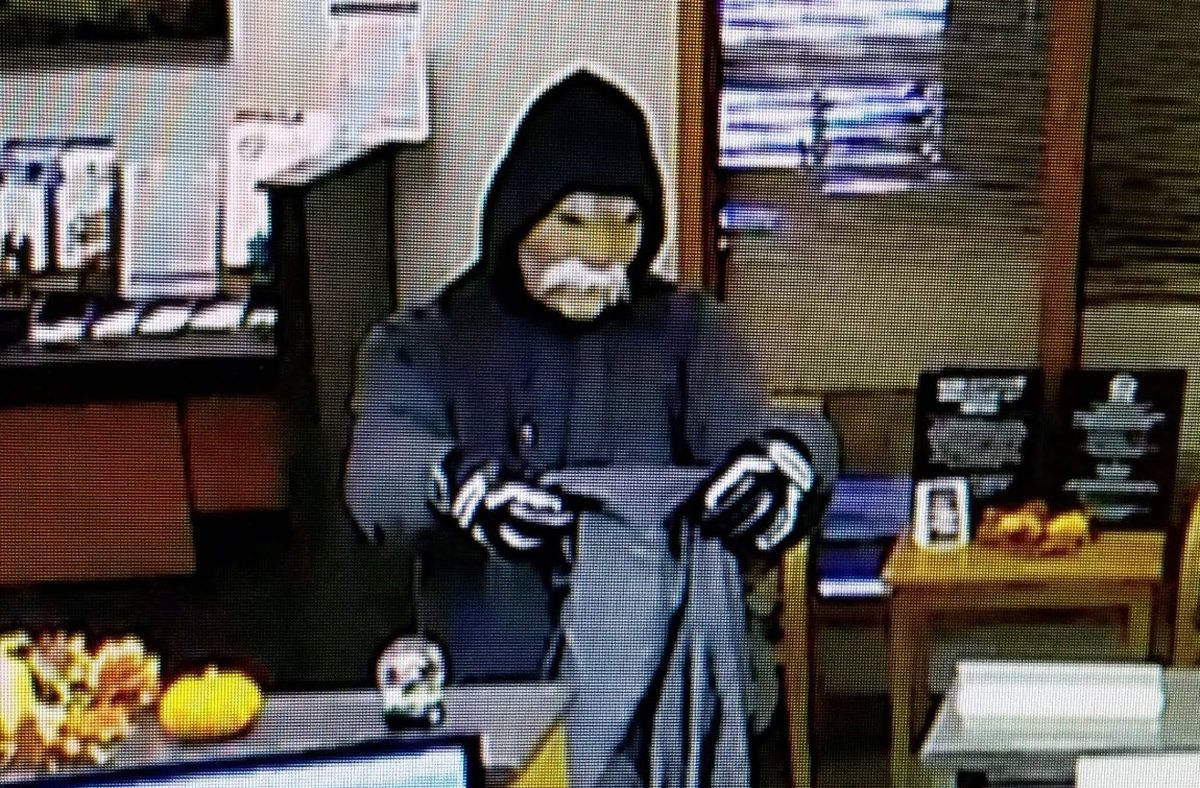 Masked Robber Holds Up Ohio Bank On Halloween