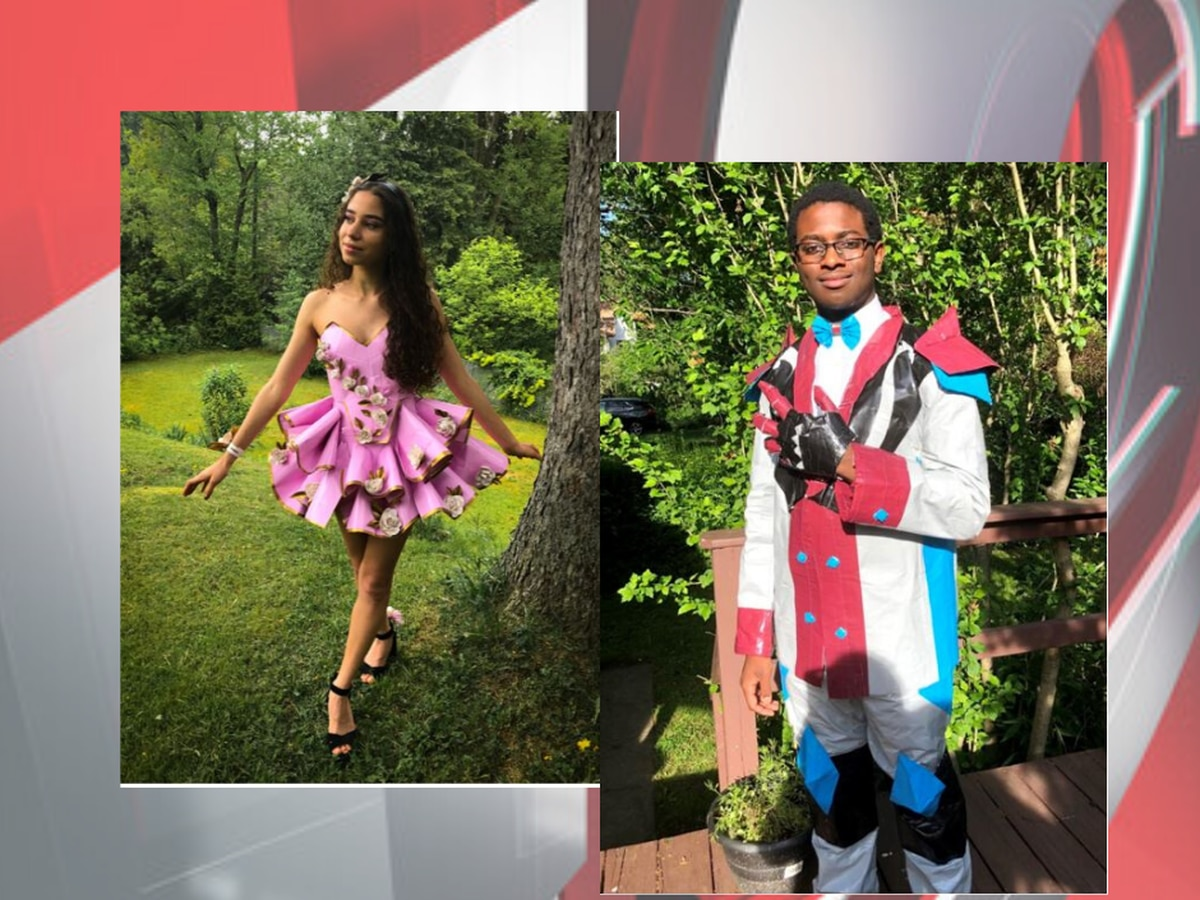 Avon-based company awarding scholarship for Duck Tape prom outfits