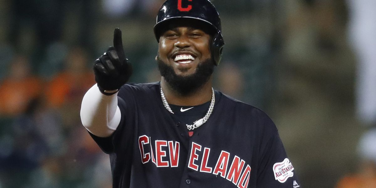 Reyes homers in six-run seventh, Indians beat Tigers 10-1