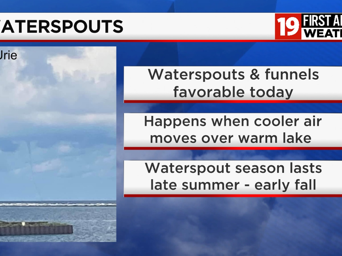Lake Erie sees record-breaking waterspout season; more expected