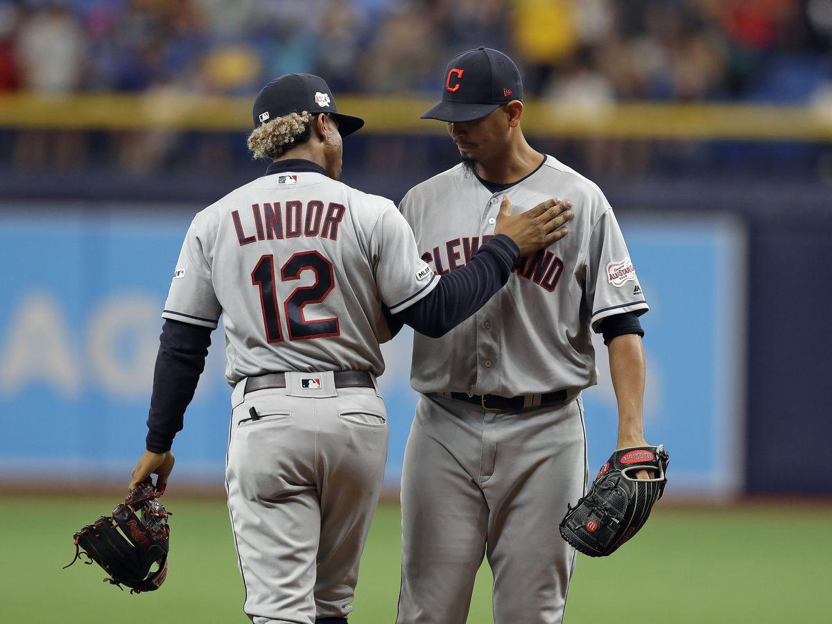Cleveland Indians trade Francisco Lindor, Carlos Carrasco to New York Mets