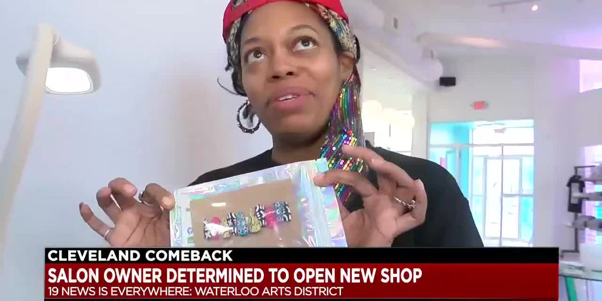 After pandemic setback, Cleveland nail artist plans to open first location in Waterloo Arts District