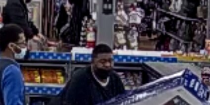 Bainbridge Township police ask for help identifying a man they say left a WalMart without paying