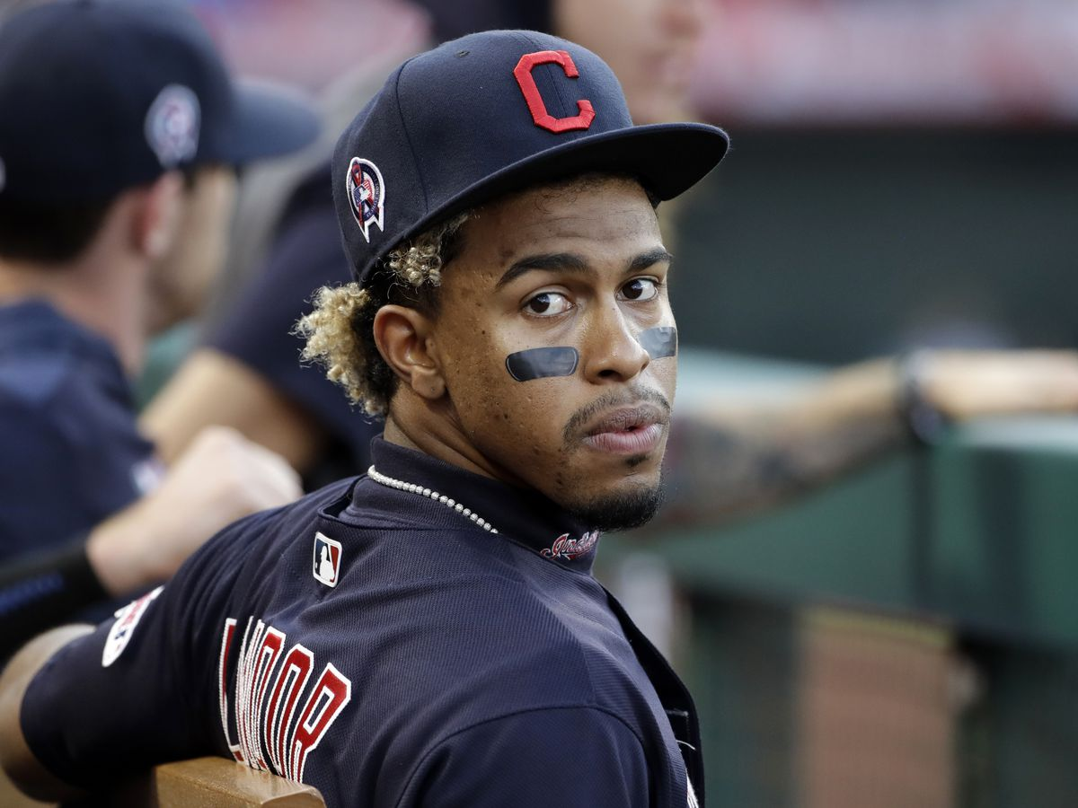 Emotional Lindor with strong COVID message for teammates, society