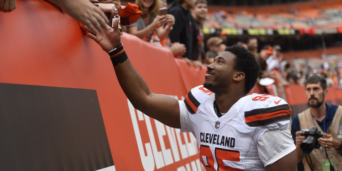 Cleveland Browns star Myles Garrett wants to invite you to his 'Game of Thrones' watch party and costume contest