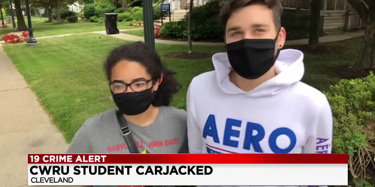 Student assaulted, carjacked at gunpoint near Case Western Reserve University campus