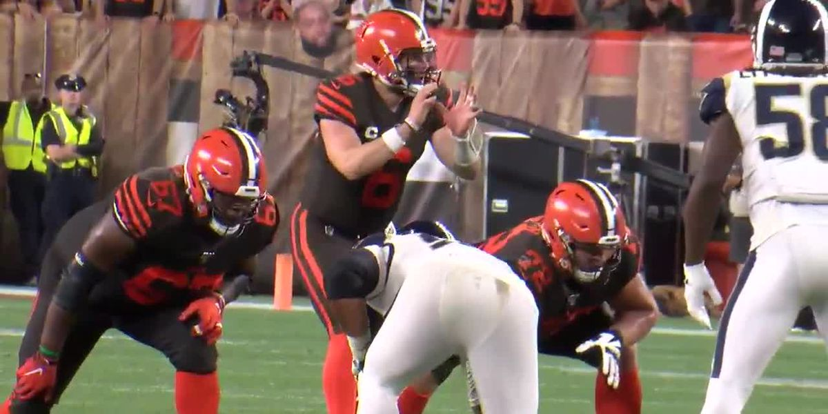 Cleveland Browns fall in the primetime against the Los Angeles Rams
