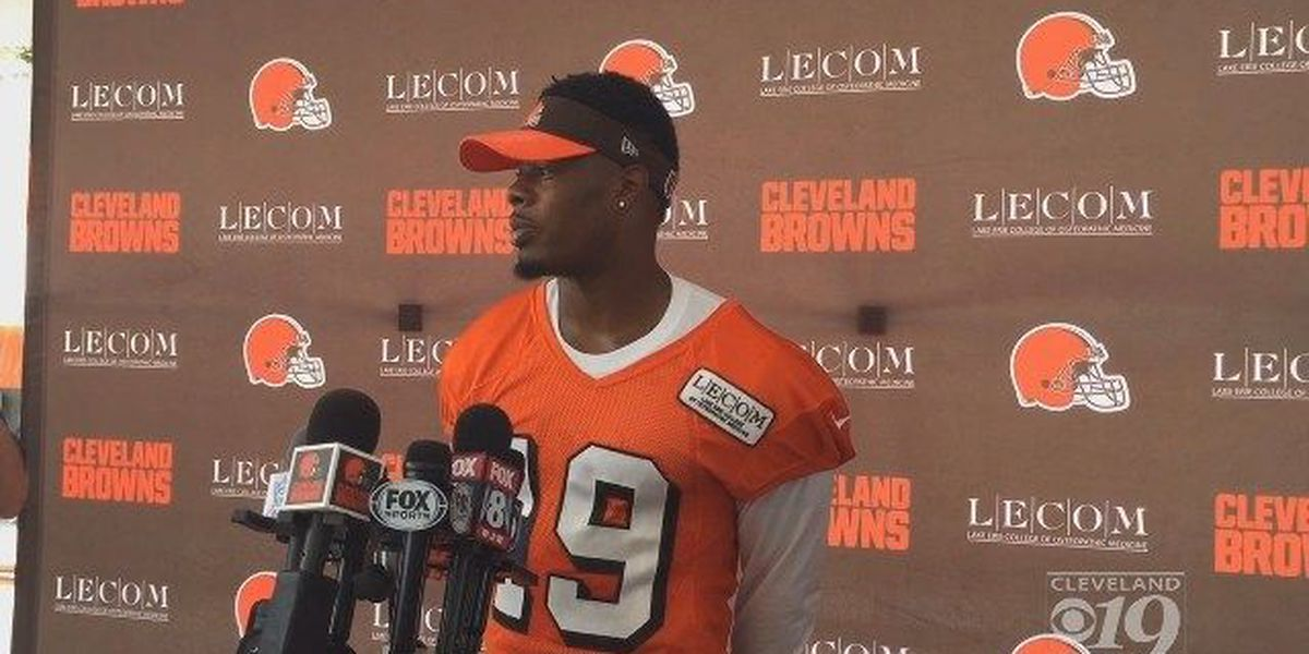 Hue Jackson says Cleveland Browns wide receiver Corey Coleman has improved in the offseason