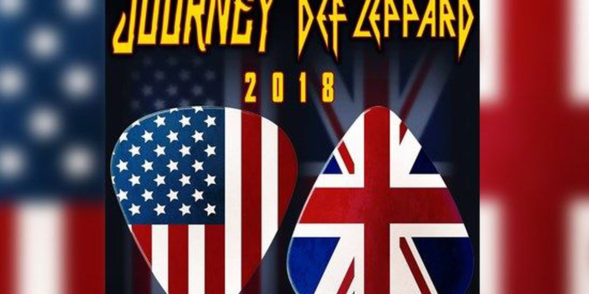 Journey, Def Leppard announce joint concert in Cleveland