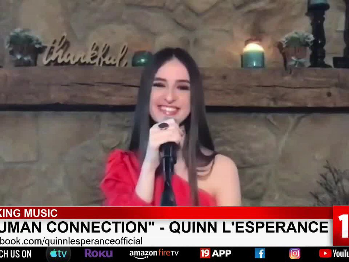 'Human Connection': Ohio native singer Quinn L'Esperance's new song sets to inspire during coronavirus crisis