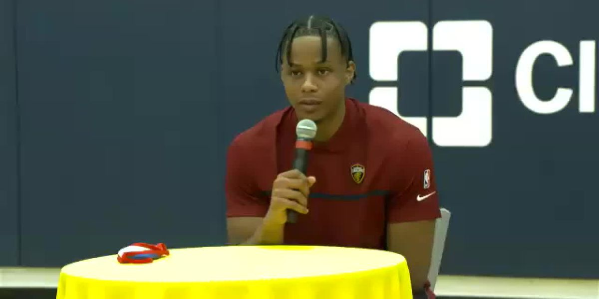 Isaac Okoro press conference