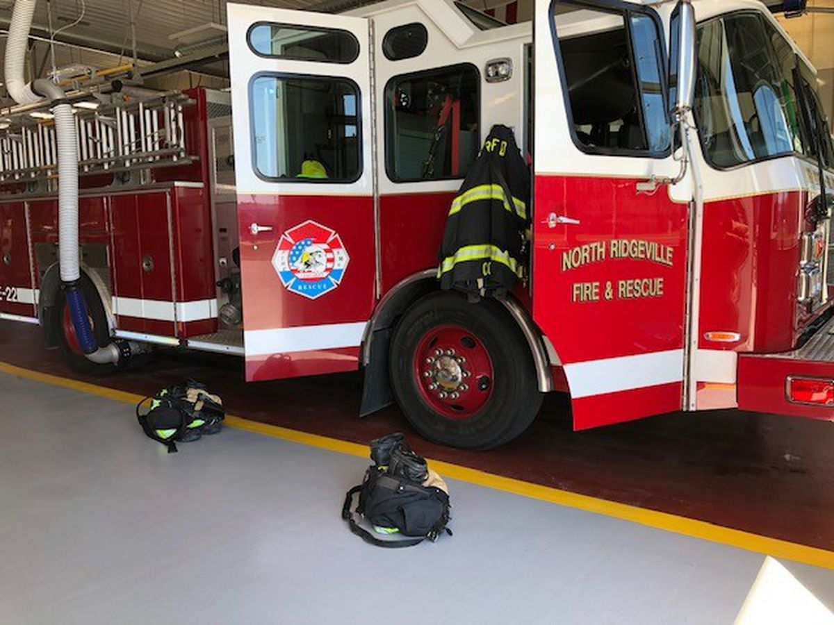 North Ridgeville Fire Department is retrofitting ambulances to clear the air