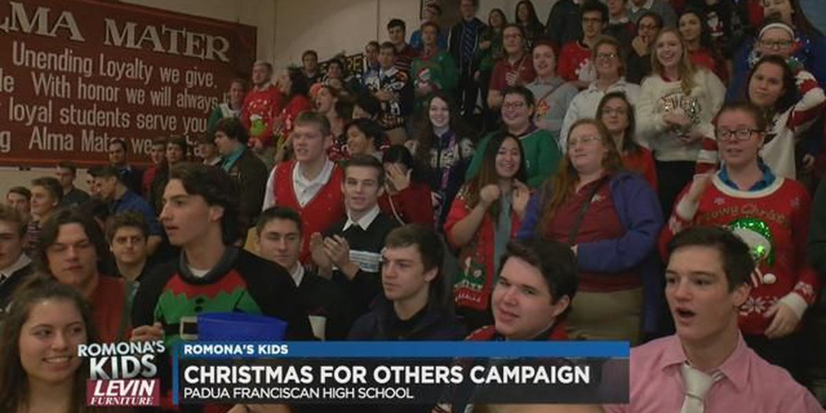 Romona's Kids: Padua students raise thousands in minutes for charity