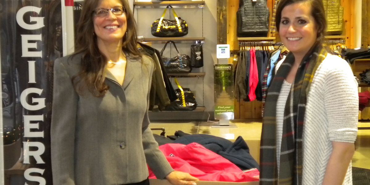Geiger's outfitters, non-profit health group partner to collect coats for the homeless