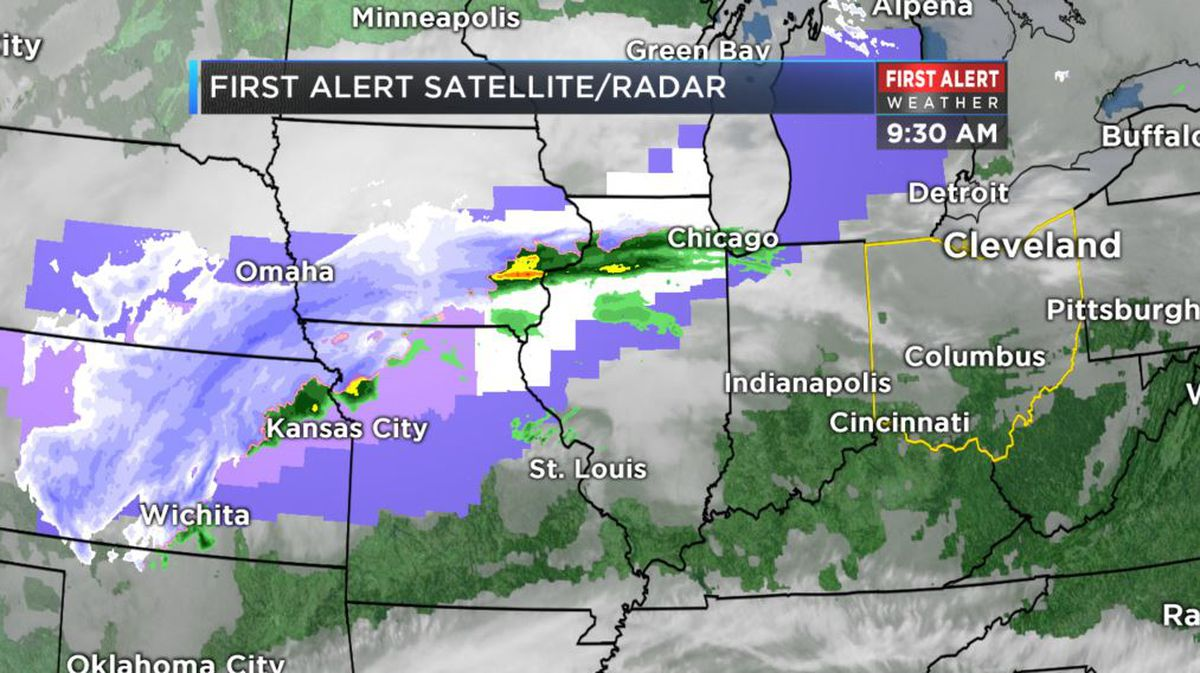 first alert weather day rain snow and cold return monday. Black Bedroom Furniture Sets. Home Design Ideas