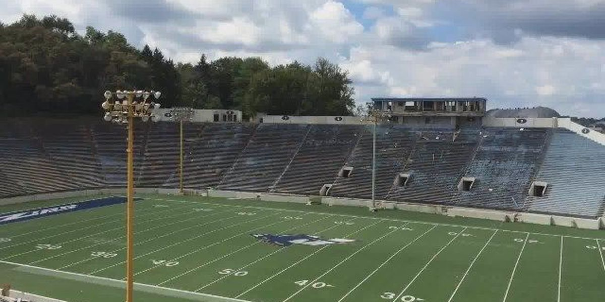 Businesses plan to recycle 100 percent of Rubber Bowl after demolition