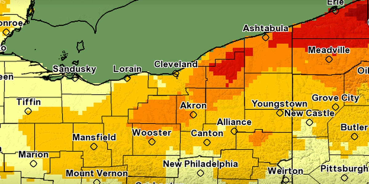 Cleveland experiencing below average snowfall, above average precipitation this winter