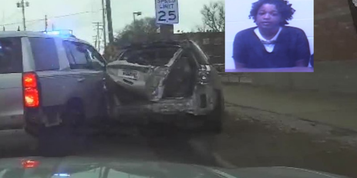 Driver who smashed into Ohio police cruisers on 'way to work' held in jail on $10,000 bond