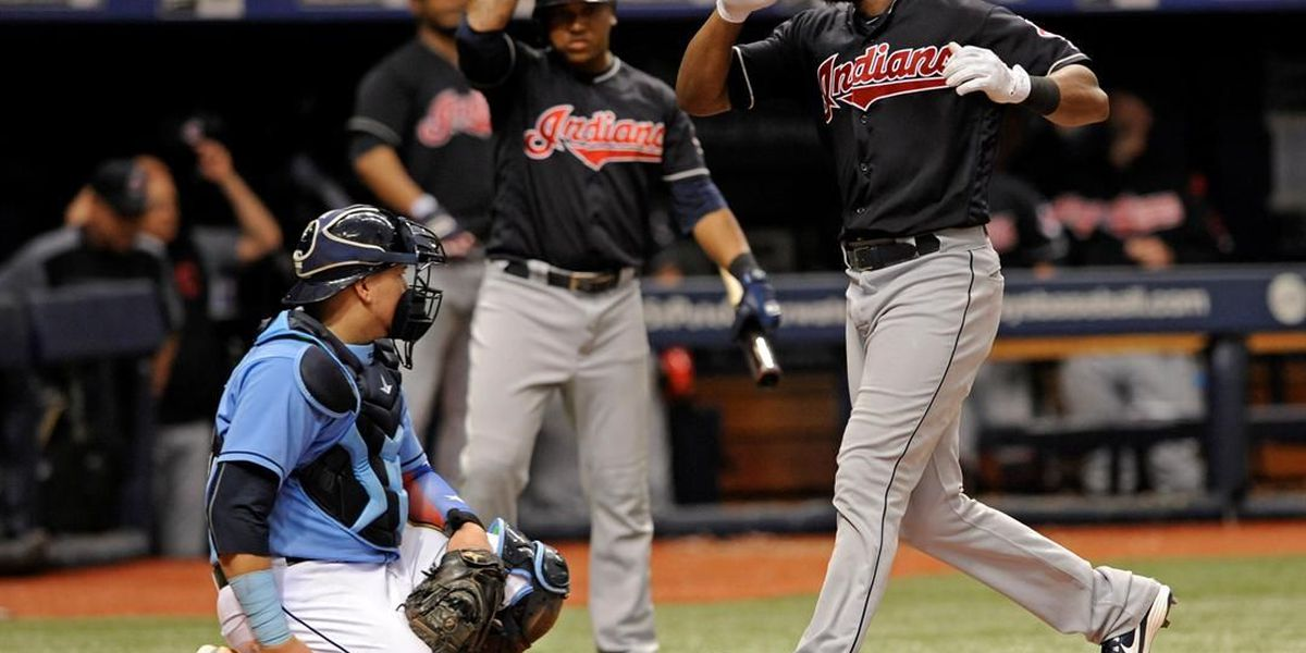 Jackson's homer in 8th lifts Kluber, Indians over Rays 4-3