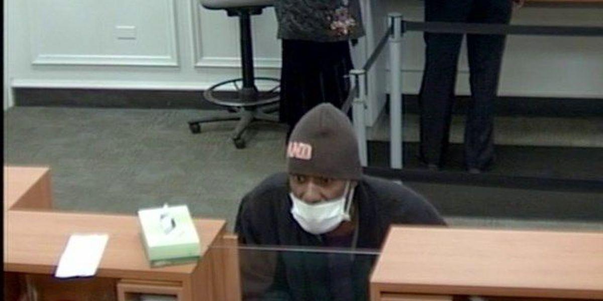 Police arrest surgical mask-wearing bank robber