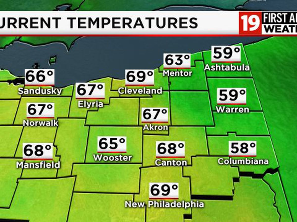 Northeast Ohio Weather: Expect mild temps, cloudy skies and potent storms this weekend