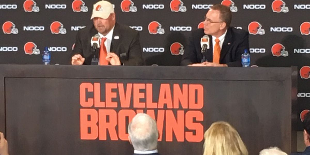 Freddie Kitchens formally introduced as Cleveland Browns head coach