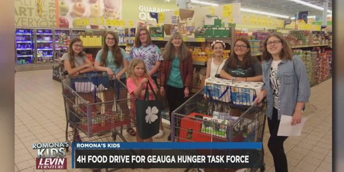 Romona's Kids: Geauga youngsters raise $40,000 to feed hungry