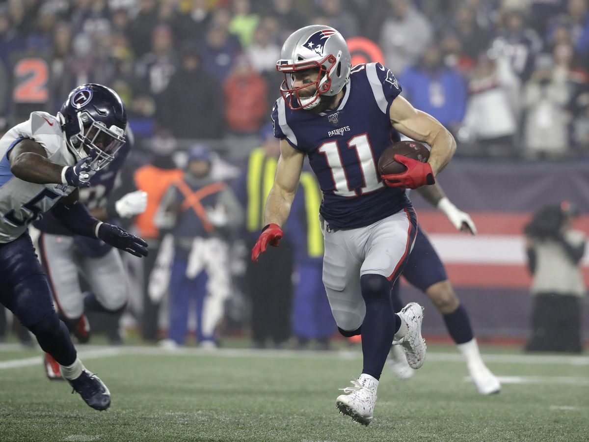 Report: Former Kent State player, current Patriots' receiver Julian Edelman was arrested and released in Beverly Hills Saturday night