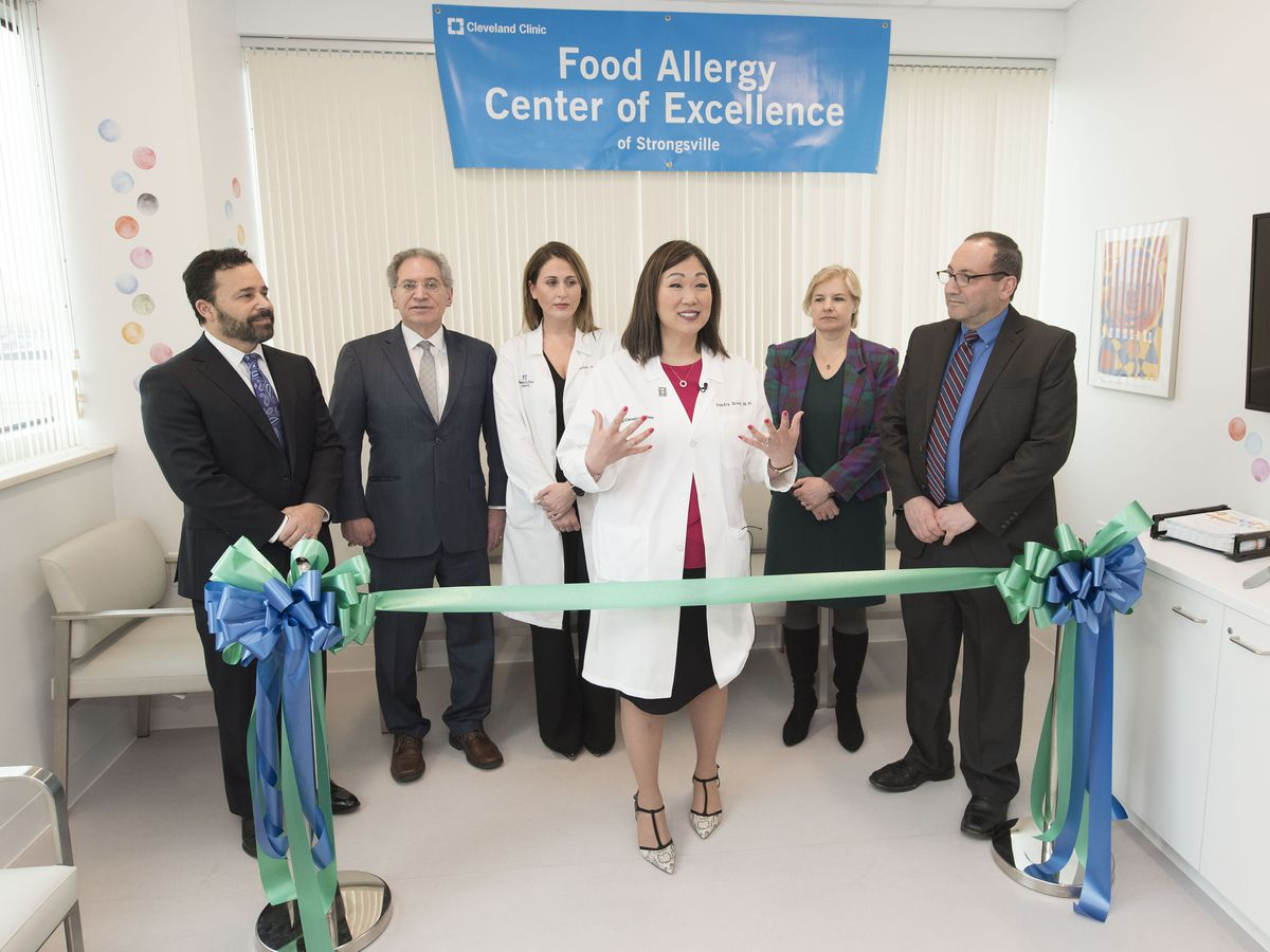 Cleveland Clinic opens Northeast Ohio's first food allergy center