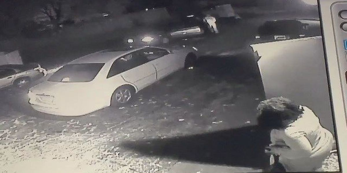 Surveillance video shows gas station shooting