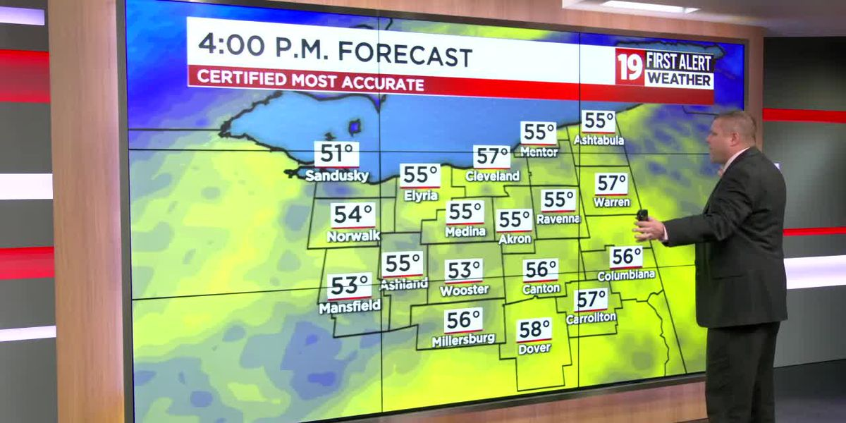 Northeast Ohio Weather: Warmer pattern continues the rest of the week