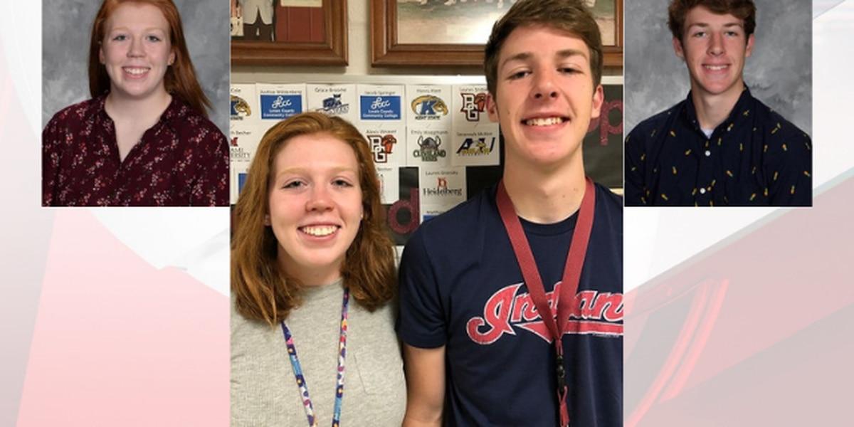 Twin seniors at Wellington High School earn valedictorian, salutatorian honors