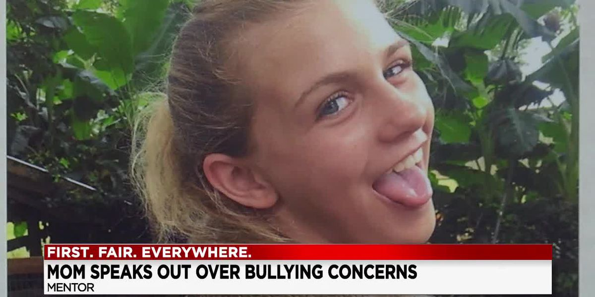 Mentor mother claims bullying played a role in her 13 year-old daughter's suicide last month