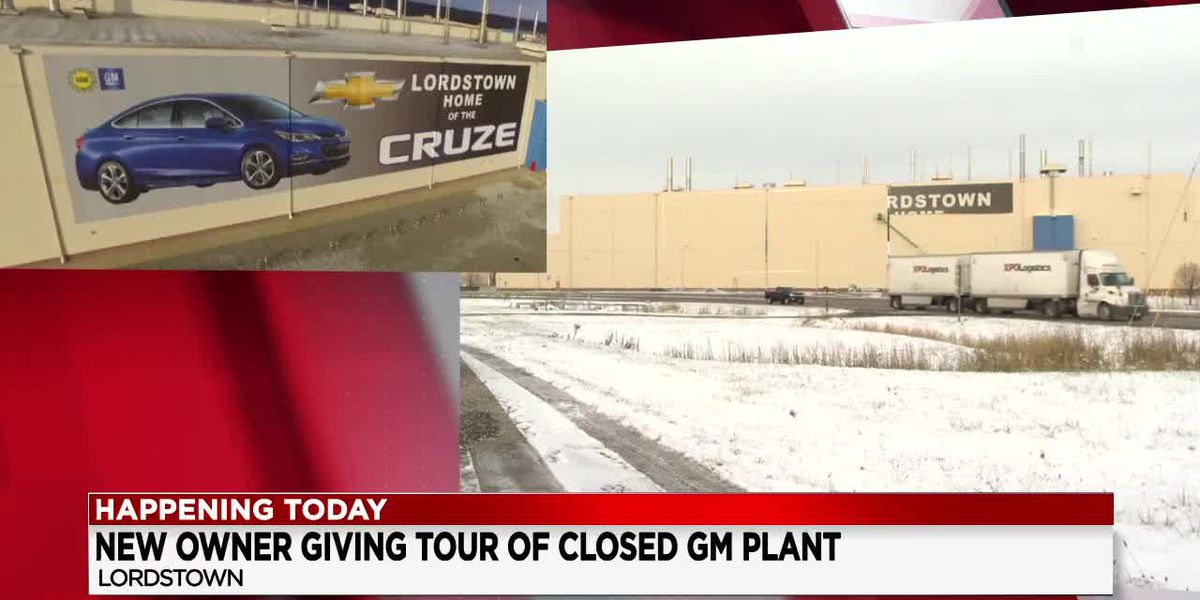 Lordstown Motors Corporation showing off newly purchased GM Lordstown Plant