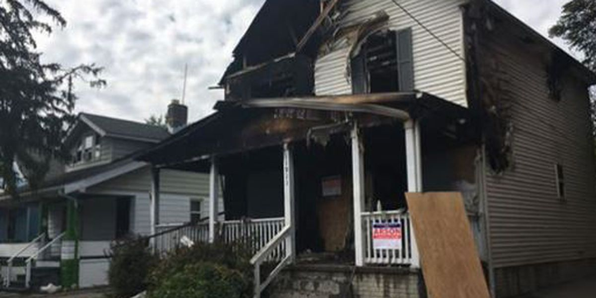 Reward offered to help solve arson on Cleveland's East Side