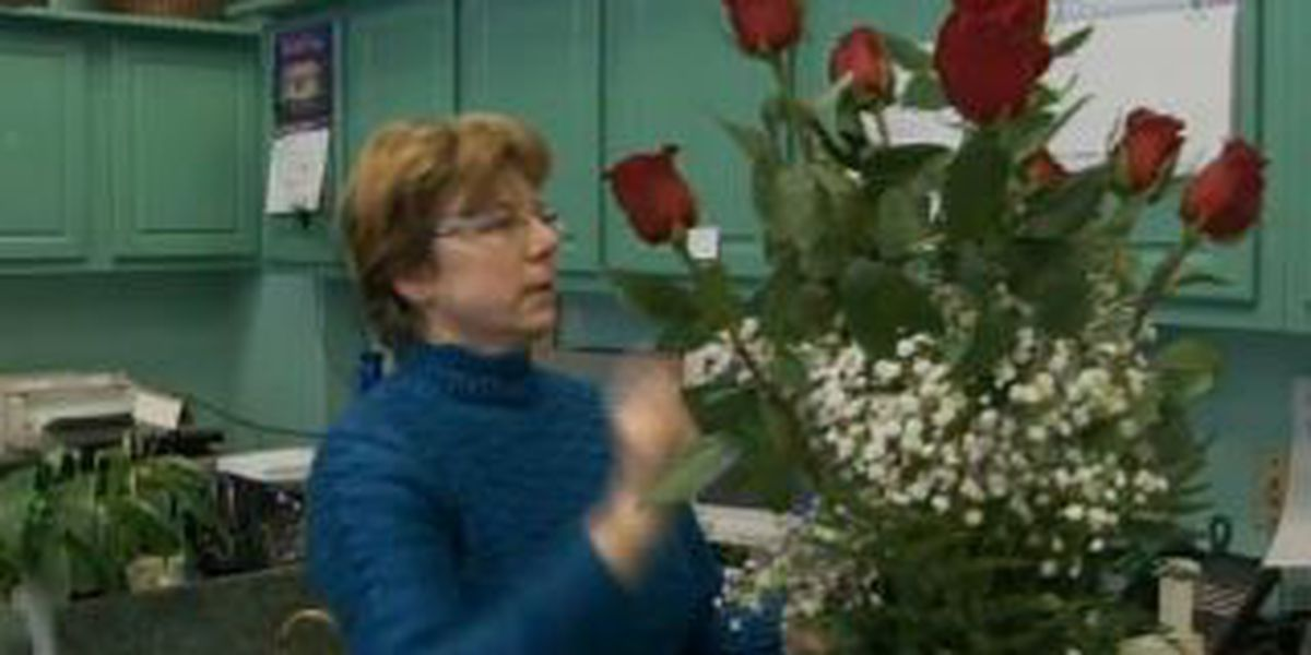 Florists say cold temps won't affect Valentine's Day