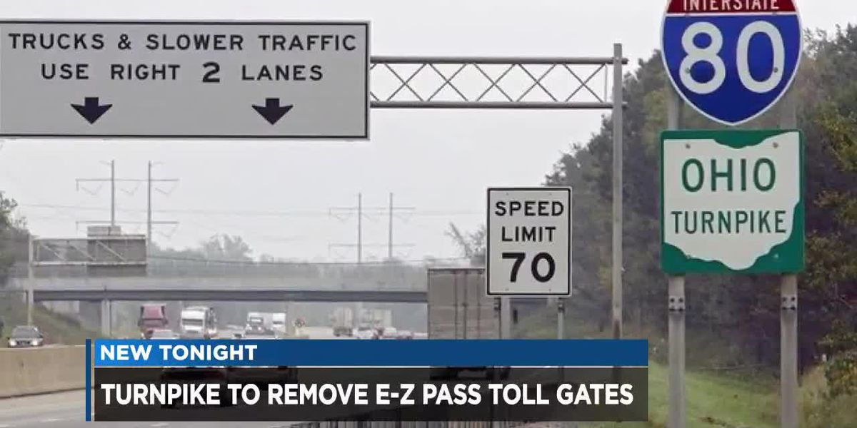 Ohio Turnpike removing toll gates in plan to modernize