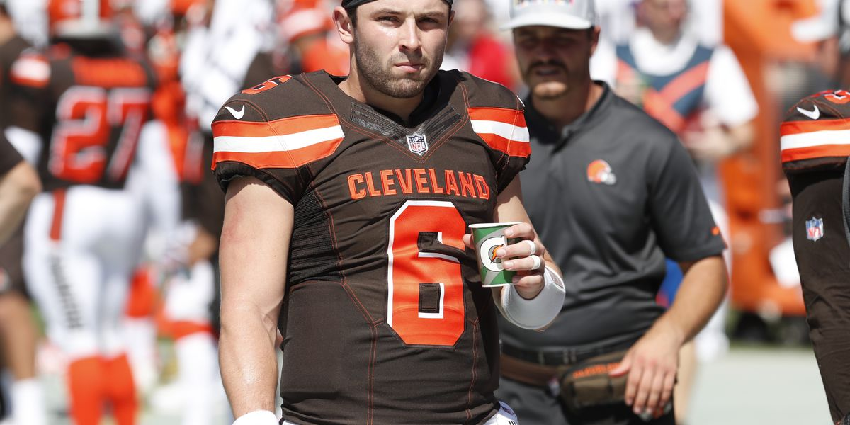 Baker Mayfield looking to bounce back; 6-9-1 would feel pretty good at the end of the year