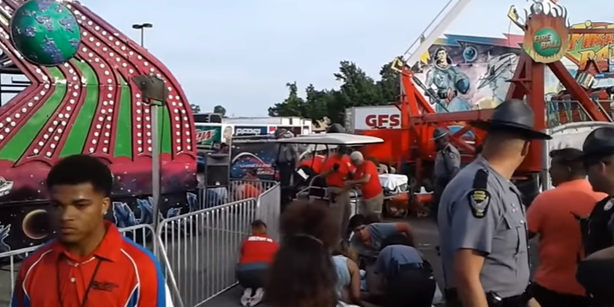4 hurt on deadly ride at Ohio State Fair remain hospitalized