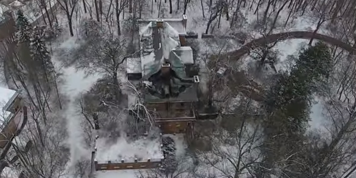 Firestone mansion fire in Fairlawn ruled arson