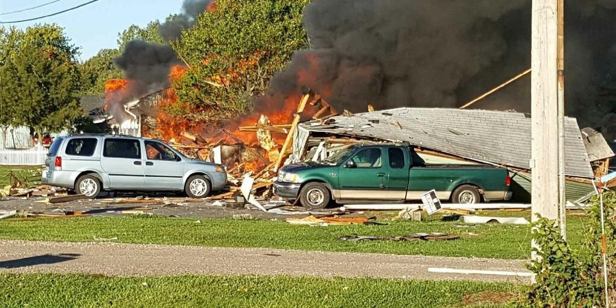 House in Ottawa County explodes, 2 injured (photos)